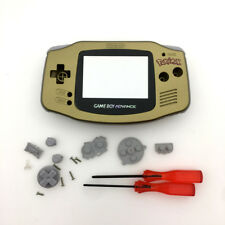 Gold Pokemen Edition Housing Shell Case for Game Boy Advance GBA Game Console