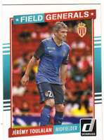 2015 Panini Donruss Soccer Field Generals #7 Jeremy Toulalan AS Monaco