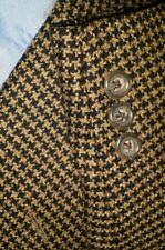 Ermenegildo Zegna WOOL CASHMERE Tweed Gun Check Sport Coat Jacket Blazer 52 42S