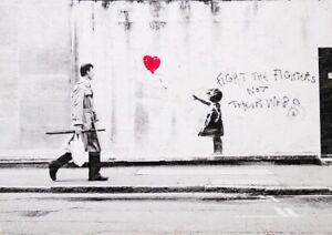 Banksy Girl With Balloon Laz inc. Original signed ed 1/22