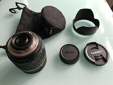 Tamron 18-250mm F/3.5-6.3 AF Di-II LD IF Macro Lens for Nikon w/Hood