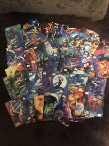 1994 Fleer Marvel Masterpieces Gold Foil Signature Series * Lot of 89 Cards Mint