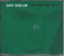 GARY BARLOW - So help me girl PROMO CD SINGLE 1TR (RCA) 1997 TAKE THAT