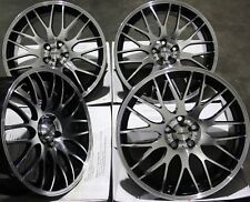 "ALLOY WHEELS 17"" BLACK P MOTION FOR AUDI 80 90 MAZDA 121 2 SAAB 900 4x108"