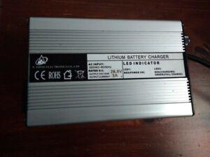 Lithium Battery ChargerAC INPUT:220VAC-60/50Hz