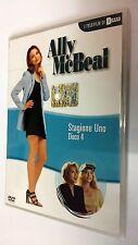 Ally McBeal serie televisiva stagione 1 vol. 4 DVD 4 episodi dura 180 minuti