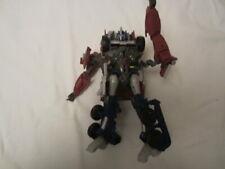 Preowned Hasbro Transformers Prime Weaponizer Optimus Prime Action Figure #38285