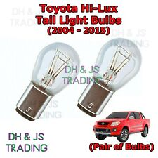 Toyota Hi Lux Tail Light Bulbs Pair of Rear Tail Light Bulb Lights HiLux (04-15)