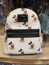 Loungefly Sac A Dos  Blanc White Mickey Mk Disneyland Paris backpack