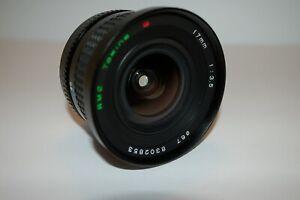 Tokina 17mm F3.5 RMC Lens 17/3.5