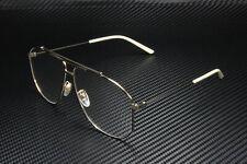GUCCI GG0441O 003 Pilot Navigator Gold Shiny 63 mm Men's Eyeglasses