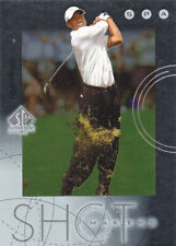 New listing 2001 SP AUTHENTIC GOLF TIGER WOODS ROOKIE SHOT MAKERS INSERT #S1