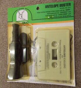 Primos Hunting Antelope Buster Game Call 910- new old stock w/cassette