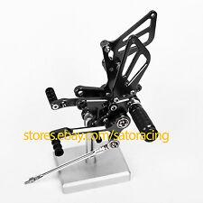 For Suzuki GSXR1000 2001 2002 2003 2004 CNC Adjust Footpegs Rear set Rearsets