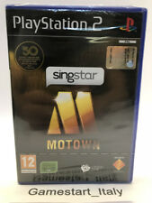 SINGSTAR MOTOWN - SONY PS2 PLAYSTATION 2 - VIDEOGIOCO NUOVO - NEW PAL VERSION