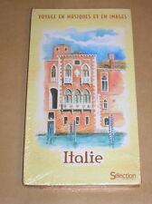 LONG BOX CD + DVD + LIVRET 136 PAGES / ITALIE, VOYAGE EN MUSIQUE ET EN IMAGES+++