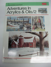 New Walter Foster How to Draw and Paint Adventures In Acrylic & Oils /2 #200