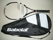 New listing BABOLAT PURE DRIVE FRENCH OPEN 10.6oz TENNIS RACQUET 4 3/8 (NEW STRINGS) 2013