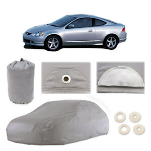 Fits 2002-2006 Acura RSX 4 Layer Car Cover Fitted Water Proof Snow Rain Sun Dust