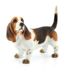More details for best of breed bassett hound dog ornament figure