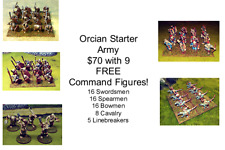15mm Fantasy Orcian Starter Army (70 figures)