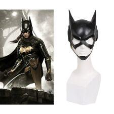 XCOSER Batgirl Full Head Mask Cosplay Costume Latex Helmet Halloween Party Props