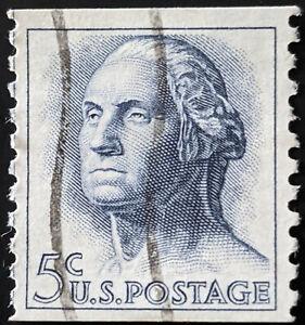 Stamp United States SG1207 1963 5c George Washington Used