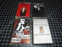 4 Classic Rock Music Vintage Audio Cassette Tapes By Melissa Etheridge
