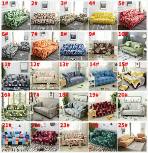 1- 4 Seater Elastic Couch Stretch Sofa Full Cover Slipcover Protector Decor Kits