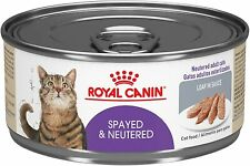 Royal Canin Feline Health Nutrition Spayed/Neutered Loaf in Sauce Canned