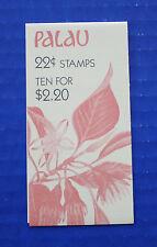 Palau (#132a) 1987 Indigenous Flowers MNH booklet