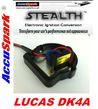 Lucas DK4A Distributor with Bakelite base-plate AccuSpark electronic ignition