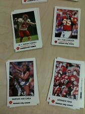 9 Kansas City Chiefs Law Enforcement sets 1979 1980 1981 1982-1987 Lanier Budde