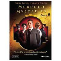 Murdoch Mysteries: Season 6 DVD Used - New [ DVD ]