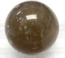 Gray Quartz Crystal Sphere 30 mm 38.6 gram Untreated Natural Stone