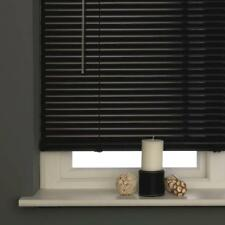 New Pvc Blinds Window Venetian Easy Fit Home Office Blind Wood Effect All Sizes