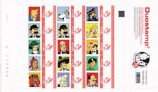 Belgium**TINTIN-New Issue-Very Rare SHEET 15 Stamps-2014- KUIFJE-Feuille/Vel
