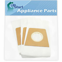3 Vacuum Bags for Dirt Devil Breeze Lightweight Bagged Upright M085610