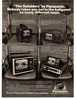 1976 Panasonic TR-555 TR-515 TR-739 TR-535 Portable Television TV Sets Print Ad photo