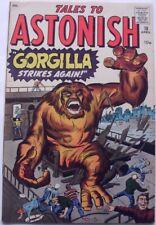 TALES TO ASTONISH #18 (1961) FN 6.0  GORGILLA  pre-hero Marvel  Ditko, Kirby