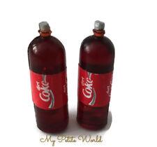 1:12 scale Dolls House Miniature coke bottle-drink-kitchen-shop-accessory