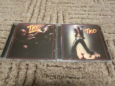 TKO 2CD Set Let It Roll and In Your Face + bonus trks.