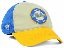 UCLA Bruins NCAA Top of the World Stone Light Blue Yellow Flex fit Hat Cap M/L