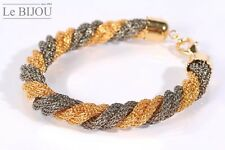 Le Bijou Armband vier gedrehte Strickketten