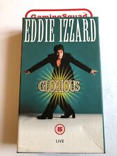 Eddie Izzard, Glorious (Cardboard)VHS Video Retro, Supplied by Gaming Squad