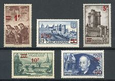 PROMO / STAMP / TIMBRE / FRANCE NEUF SERIE N° 489/493 ** COTE 90,30 €