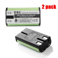 2X Cordless Phone Battery for Panasonic HHR-P546A TYPE23 ATT 2400 2401 2402 2440