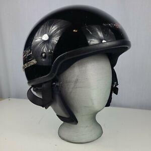 Harley Davidson A 5047 women's Size XS Rider Midway dot Motorcycle Helmet