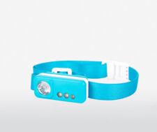 Linteras de cabeza de iluminación y linternas color principal azul LED para acampada y senderismo