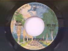 "MERLE KILGORE ""I'M NOT RESPONSIBLE / TIED"" 45"
